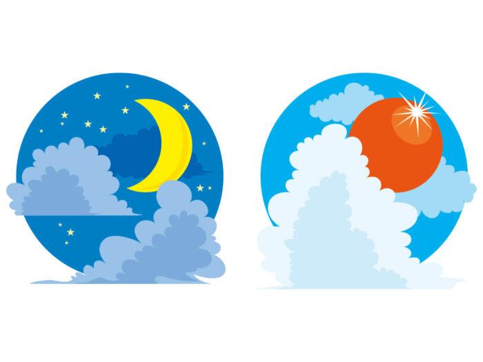 """4日目""""太陽、月、星の誕生"""""""